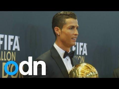 Cristiano Ronaldo wins third Fifa Ballon d'Or award