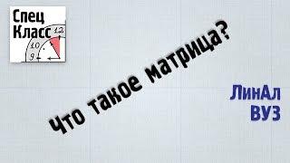 1. Что такое матрицы? - bezbotvy