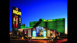 MGM Las Vegas Walk Through 4K February 2018