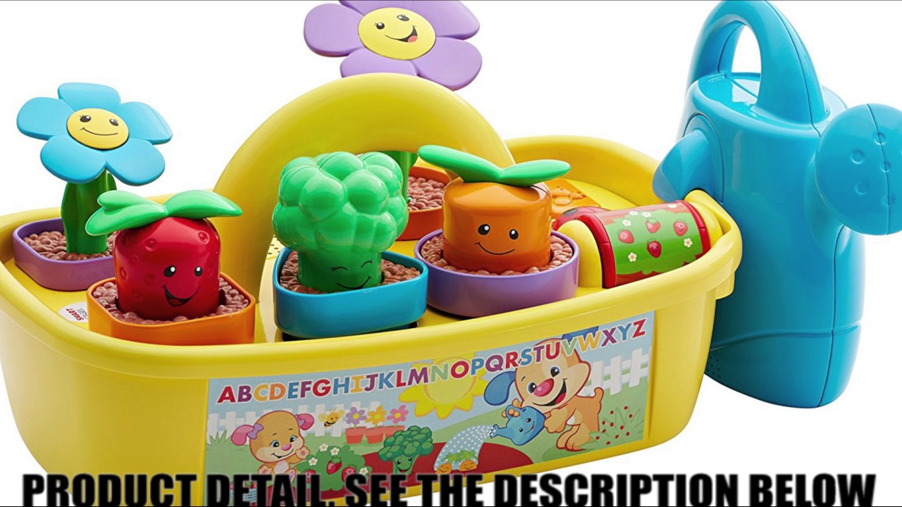 ce9f3de04244 Fisher-Price Laugh & Learn Smart Stages Grow 'n Learn Garden Caddy By Fisher  Price