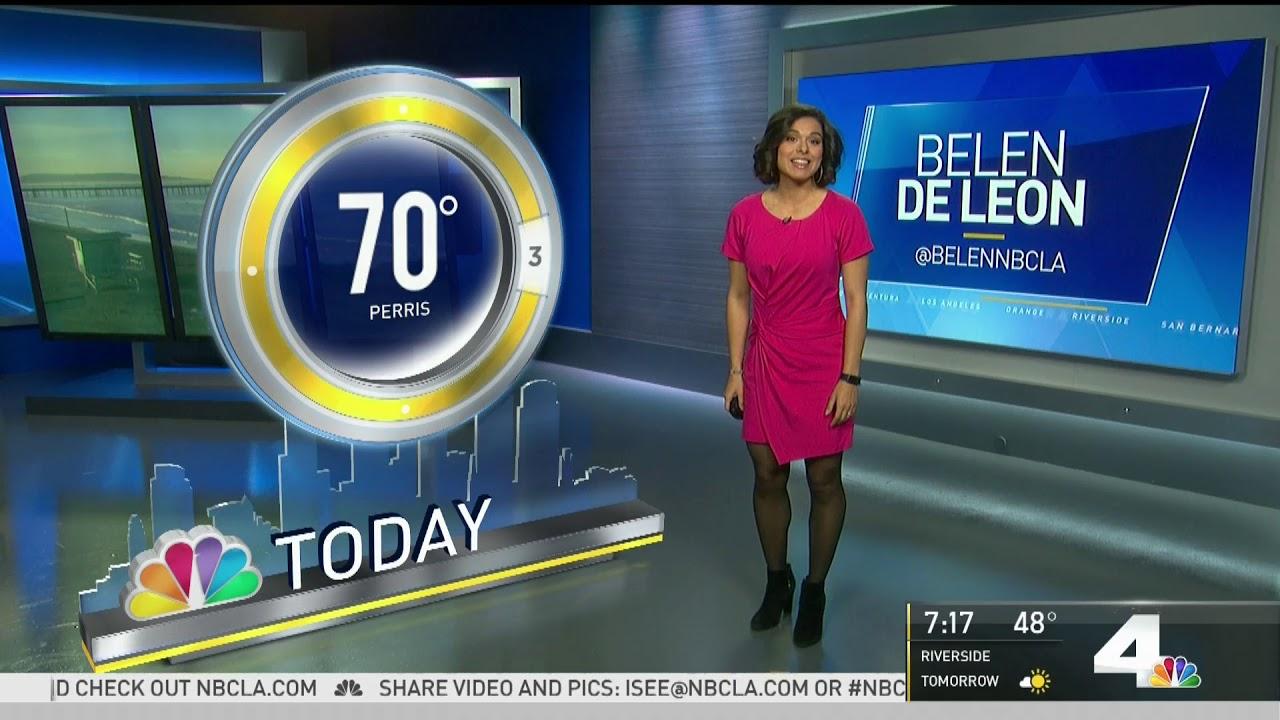 9News meteorologist singing ' Belen De Leon moved on by