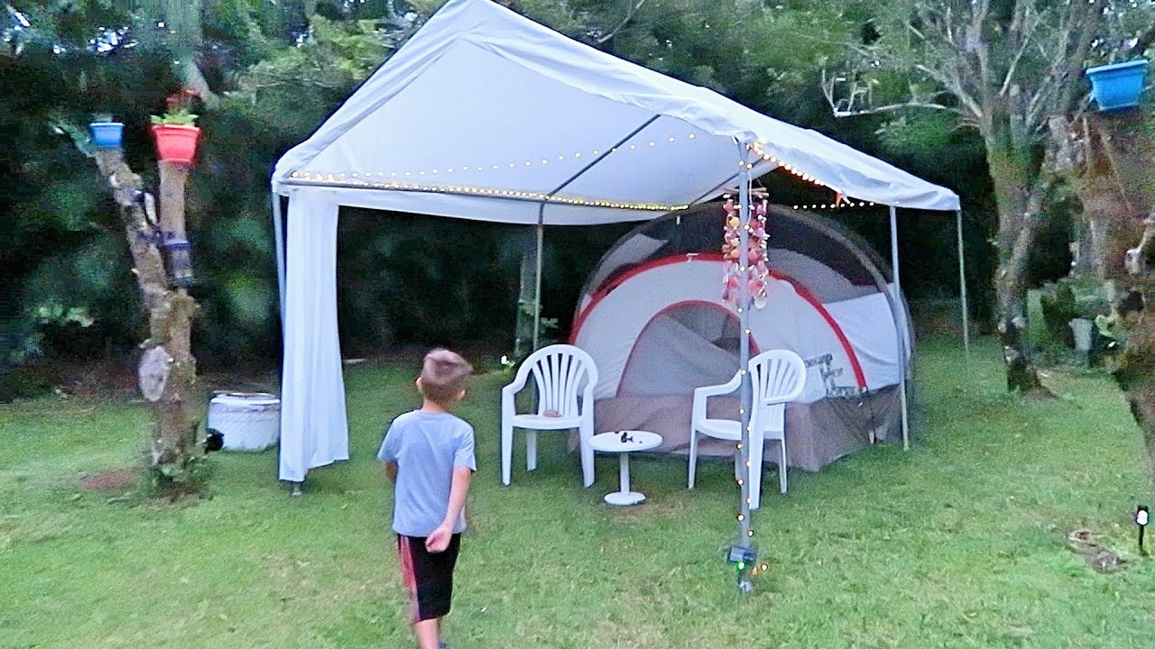 Tent Living | Hawaii & Tent Living | Hawaii - YouTube