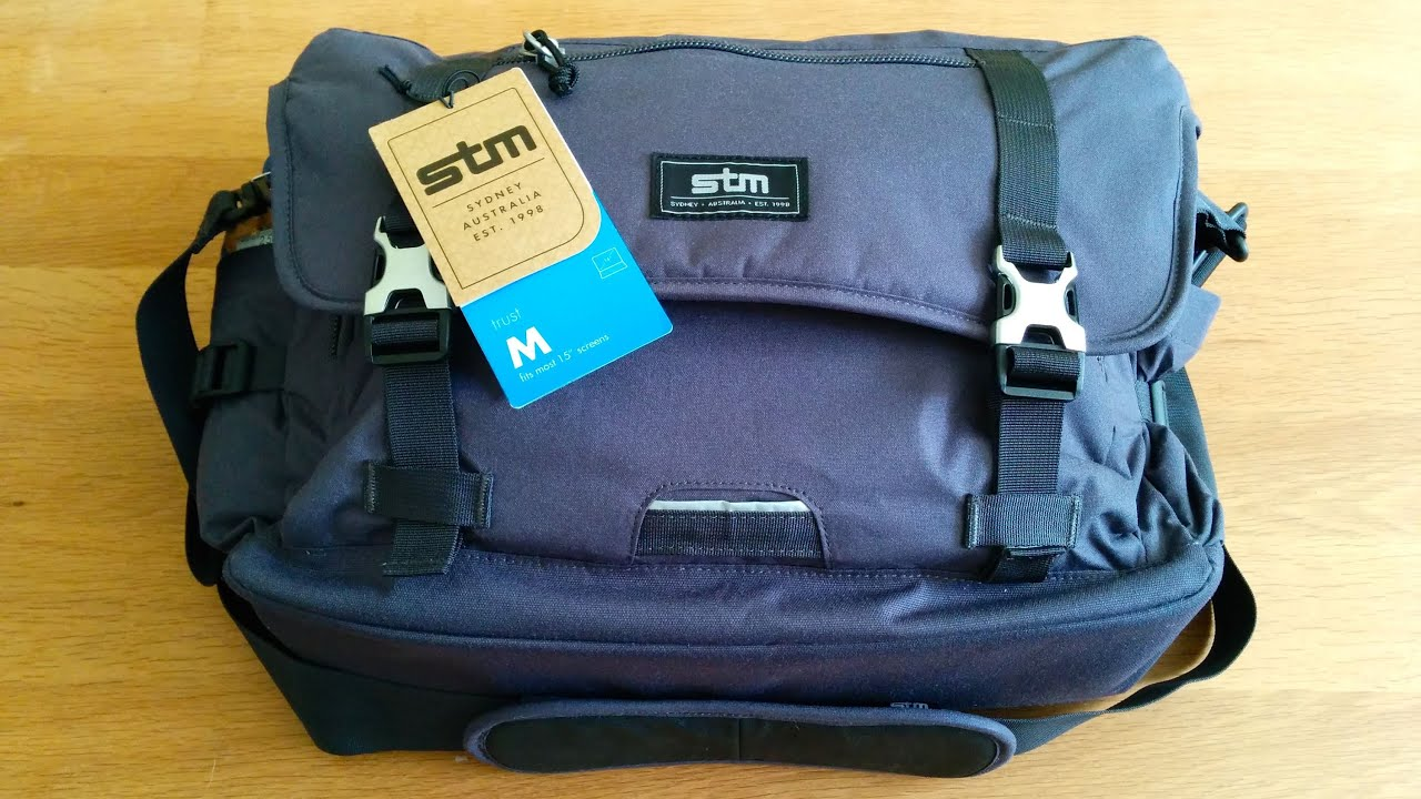 Stm Trust Medium Laptop Messenger Bag Review
