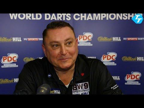 Kevin Painter fancies himself against anyone at the World Darts Championship