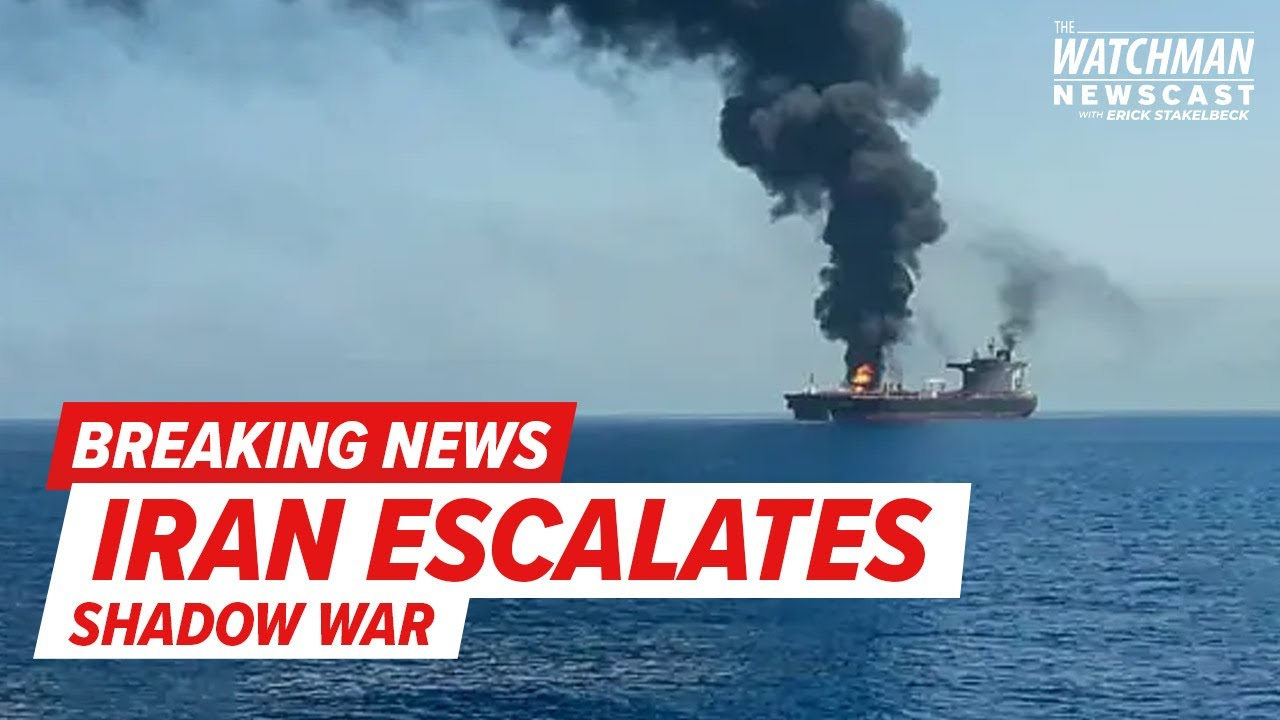Israeli-Operated Ship ATTACKED by DRONE; Iran Behind Incident Off Oman's Coast? | Watchman Newscast