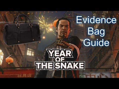 Sleeping Dogs Year of the Snake Evidence Bag Guide