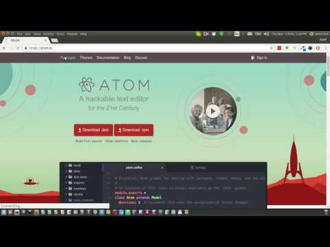 Atom IDE for django development