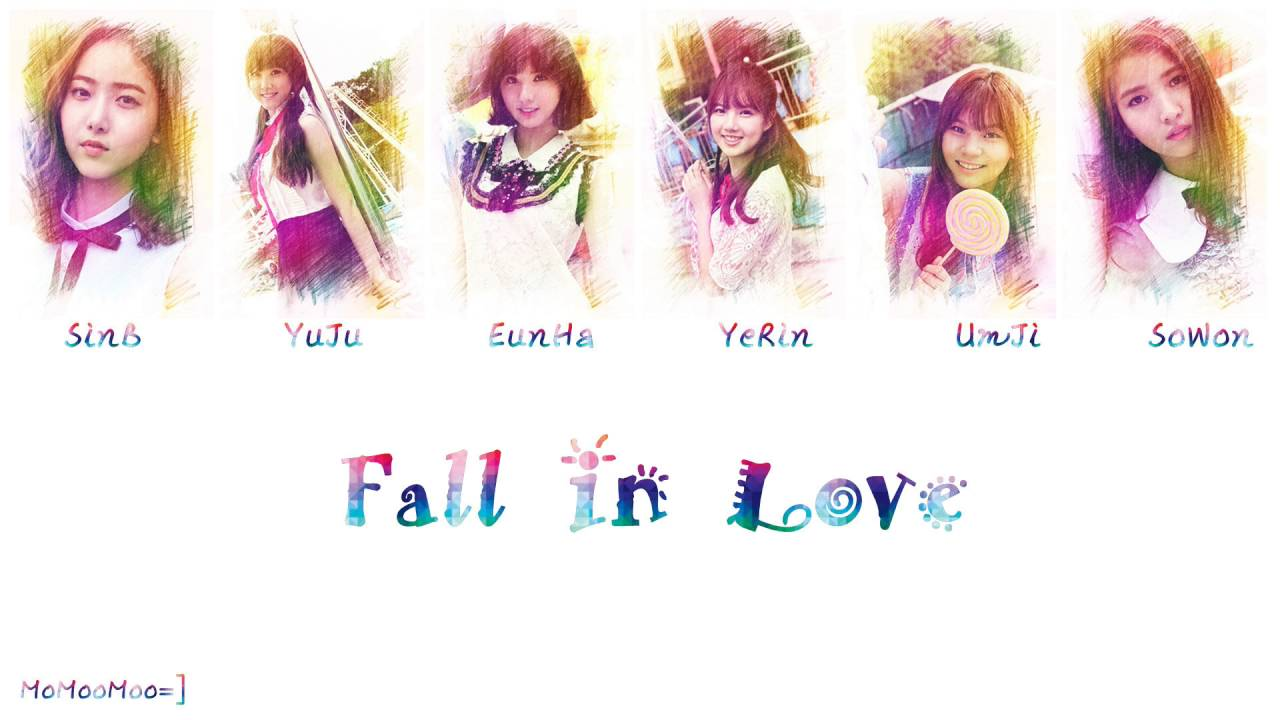 【認聲版+中字】GFRIEND (여자친구) - Fall In Love (물들어요)
