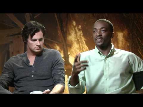 Benjamin Walker & Anthony Mackie Interview - Abraham Lincoln: Vampire Hunter