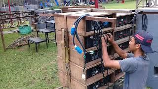 """JENGGOT"" Banyuwangi Audio Sound System acara BINA DESA dsn.Precet 3-12-2017 Wagir Malang"