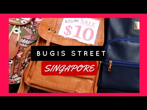 Visit to Bugis Street/Market Singapore (2017)