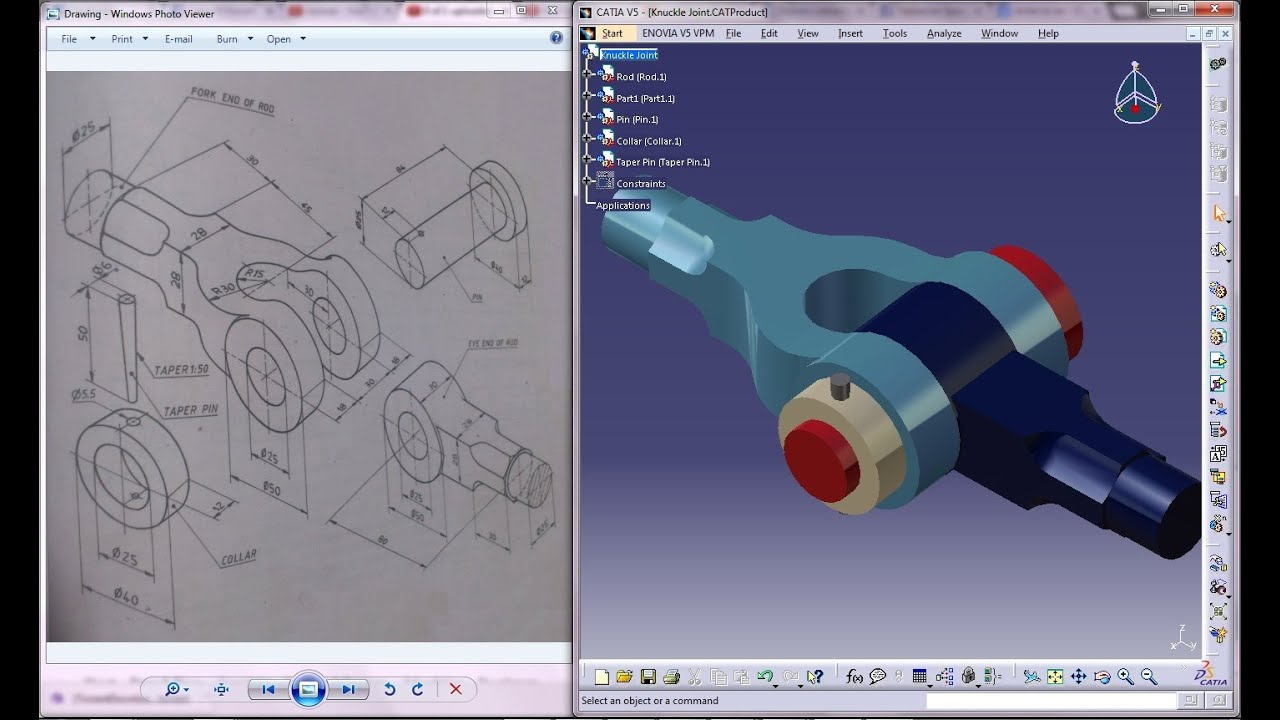 Catia V5 Tutorial