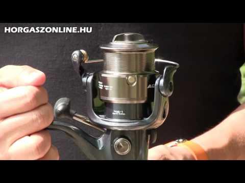 A Nevis Aqua feeder horgászorsó bemutató videó