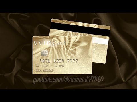 Create Golden Business Card with Photoshop