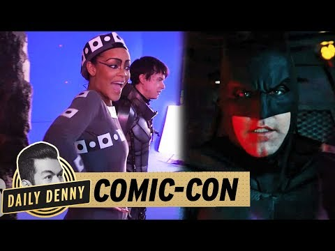 Comic Con 2017 Day 1: Rihanna 'Valerian' Behind The Scenes, Marvel, DC, & 'Kingsman'  | Daily Denny