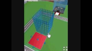 ROBLOX bulding a skyscraper