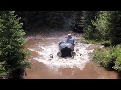 How Much Water Can A Model T Pass Through?