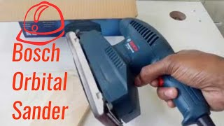 The Bosch GSS 2300 Orbital Sander