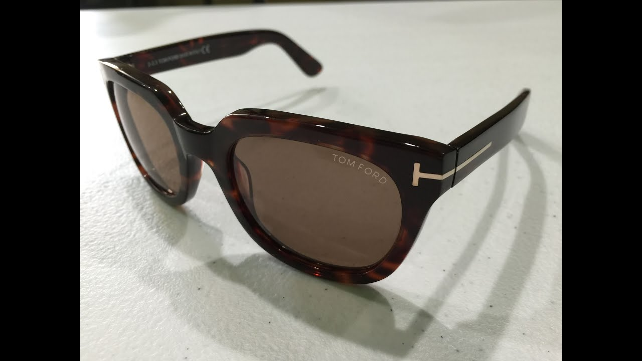 6ee1a1c98d Tom Ford Campbell Sunglasses Unboxing - YouTube