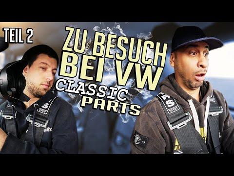 JP Performance - Brians Rallye Golf | Zu Besuch bei VW Classic Parts | Teil 2