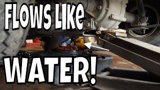 2010 EZGO RXV, Gas - Gas In Oil, Parking Brake Not Locking