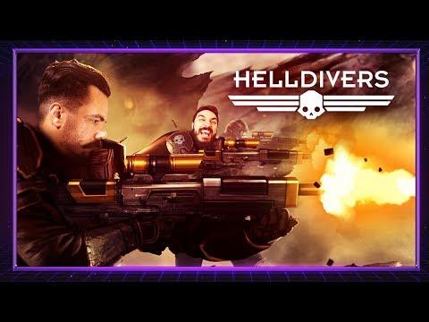 Download Youtube: O Flagelo Espacial - Helldivers | ROBOVISION 2000