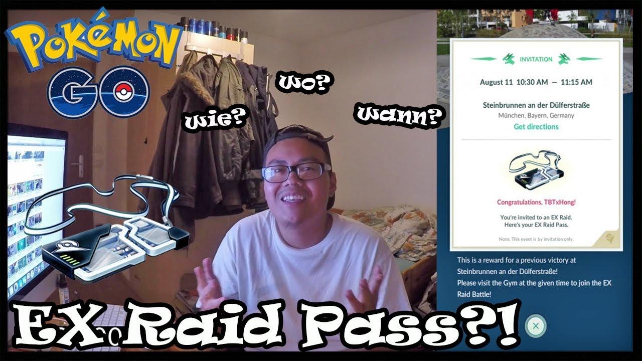 Hong ERKLÄRT: Wie Bekommt Man Einen EX Raid Pass! Pokemon