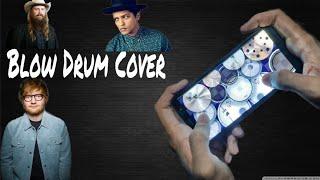 Ed Sheeran, Chris Stapleton, Bruno Mars - Blow Drum Cover Video