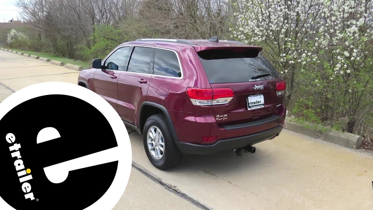 Install Trailer Wiring 2018 Jeep Grand Cherokee 30955 Etrailercom Jk Harness