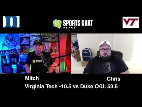 Virginia Tech at Duke - College Football Picks & Prediction - Saturday 10/3/20 | Sports Chat Place
