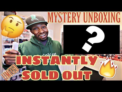 SOLD OUT INSTANTLY! LIMITED HYPEBEAST UNBOXING