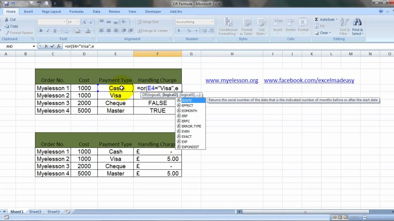 ms excel or formula hindi youtube