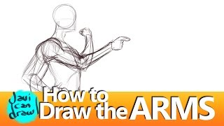 HOW TO POSE THE ARM IN A DRAWING
