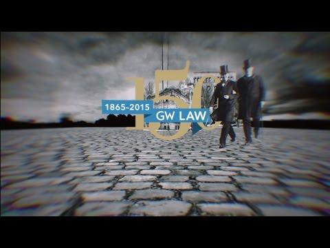 GW Law 150th