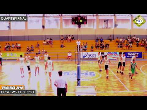 De La Salle University vs De La Salle-College of St. Benilde UNIGAMES