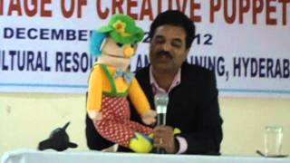 VENTRILOQUISM DEMO OF GVN RAJU AT CCRT.AVI
