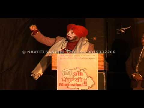 JASWINDER BHALLA - 5th Punjabi Film Festival, Amritsar