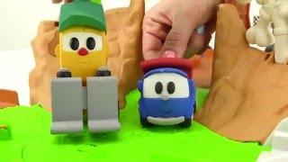 Harika oyuncaklar - Leo Junior, ekskavatör Max ve forklift Lifty - Gel oynayalım
