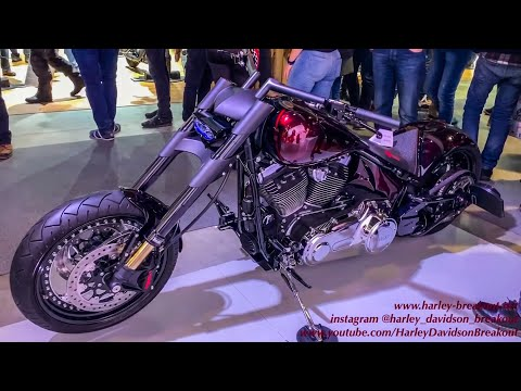 Harley-Davidson Best Custom Motorcycle Fair in Zurich Switzerland