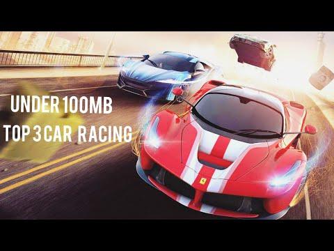Top 3 car racing games(under 100MB)