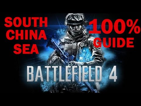 BATTLEFIELD 4 SOUTH CHINA SEA 100% COLLECTIBLE'S GUIDE