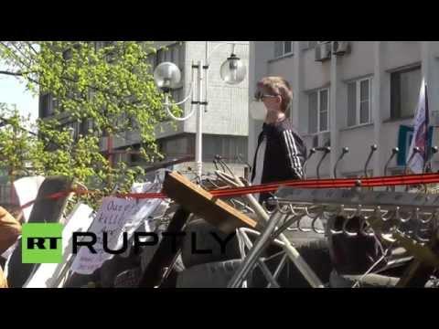 Ukraine: Mariupol demands Donetsk referendum