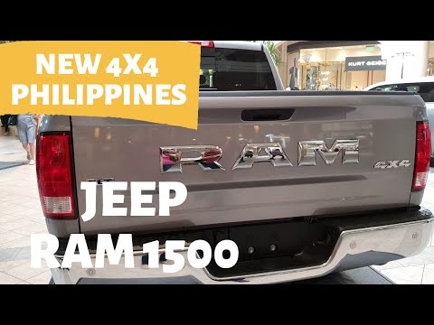 All New 2020 JEEP Pick Up RAM 1500 Philippines