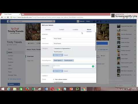 How to Change Category of Facebook Page 2016