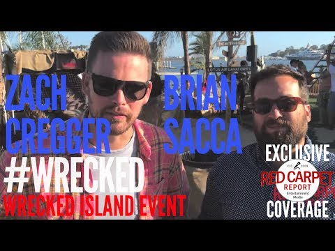 Wrecked cast members Zach Cregger & Brian Sacca talk about what's new in Season 2