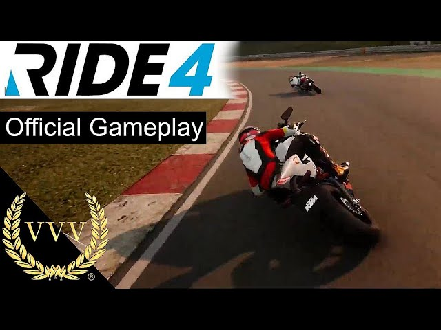 Ride 4 First Official Gameplay