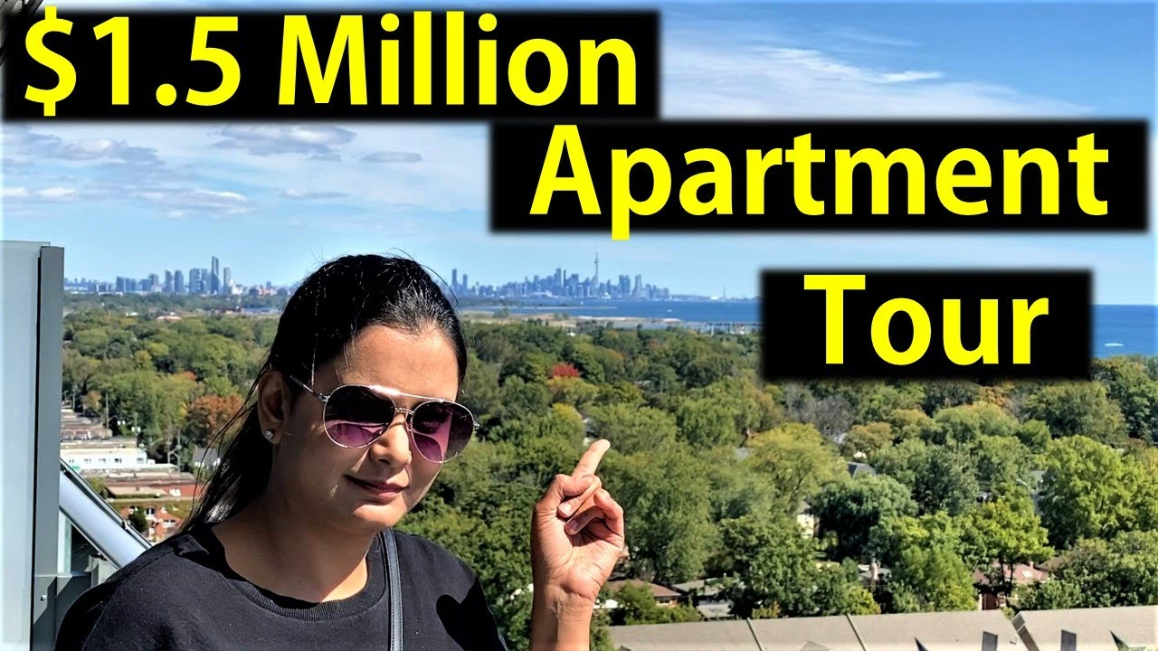 $1.5 Million Luxury Apartment House Tour In Canada | Inside A Penthouse Home | Canada Couple Vlogs