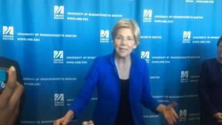 WATCH: Sen. Elizabeth Warren on Jeff Sessions, Trump