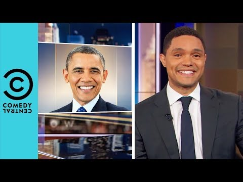 Barack Obama Goes Back To Africa | The Daily Show With Trevo