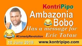 Ambazonia Bobo sends a message to Eric Tataw   ComedyRevolution